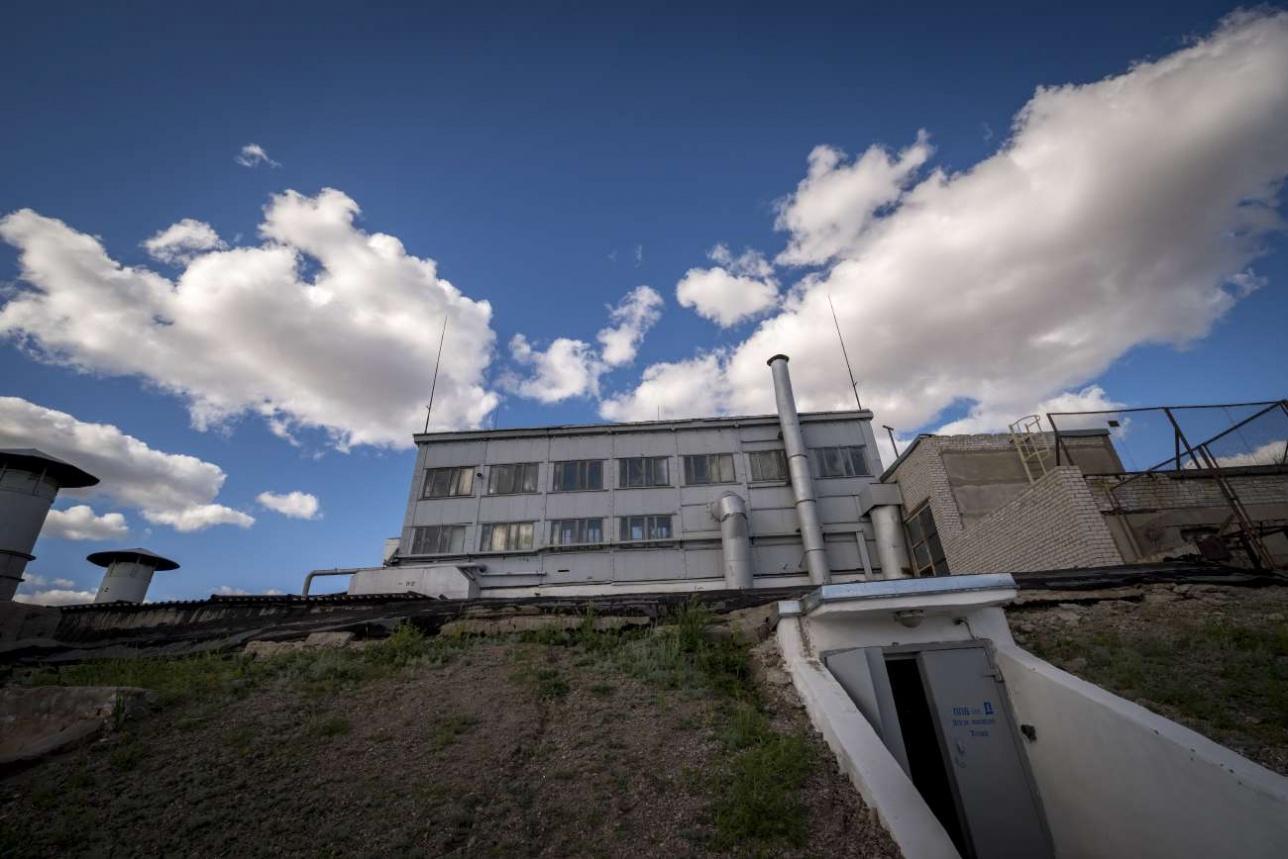 Реакторный комплекс ИГР