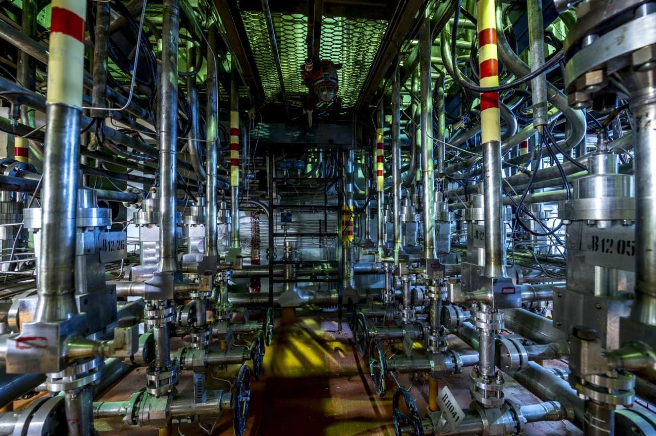 Изначально атомный реактор ИВГ.1 охлаждался водородом