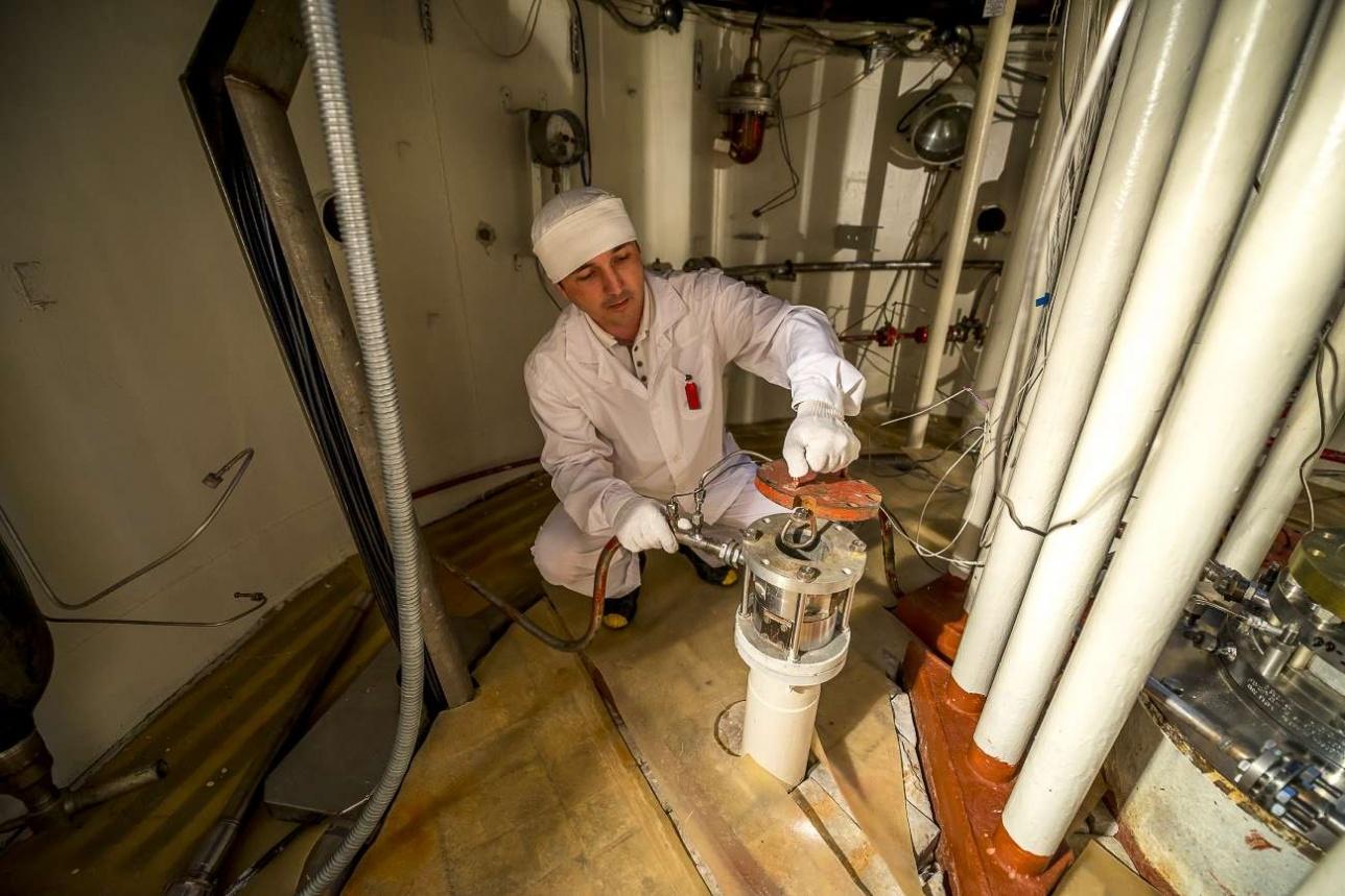 Проверка датчика реактора