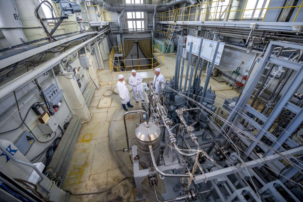 Главный реакторный зал