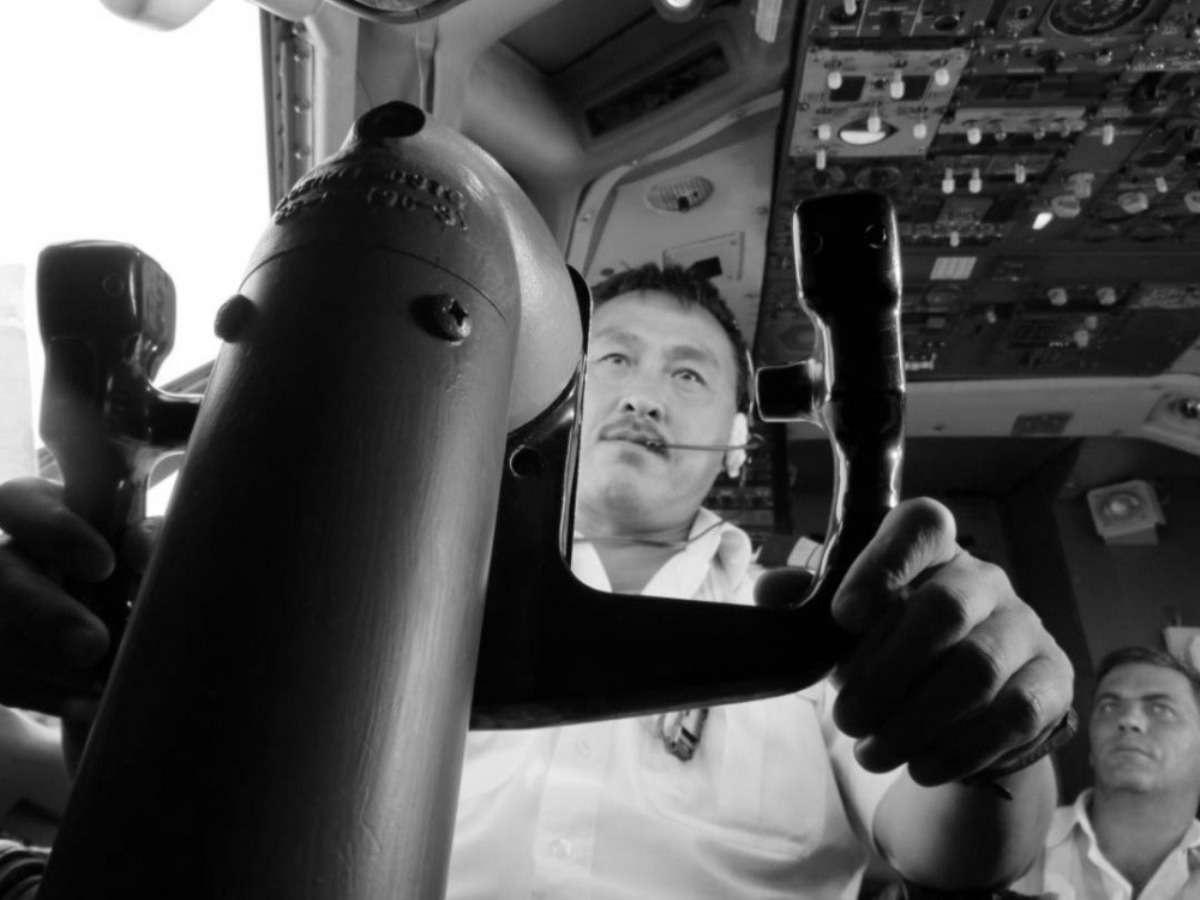 Погибший пилот Геннадий Цой