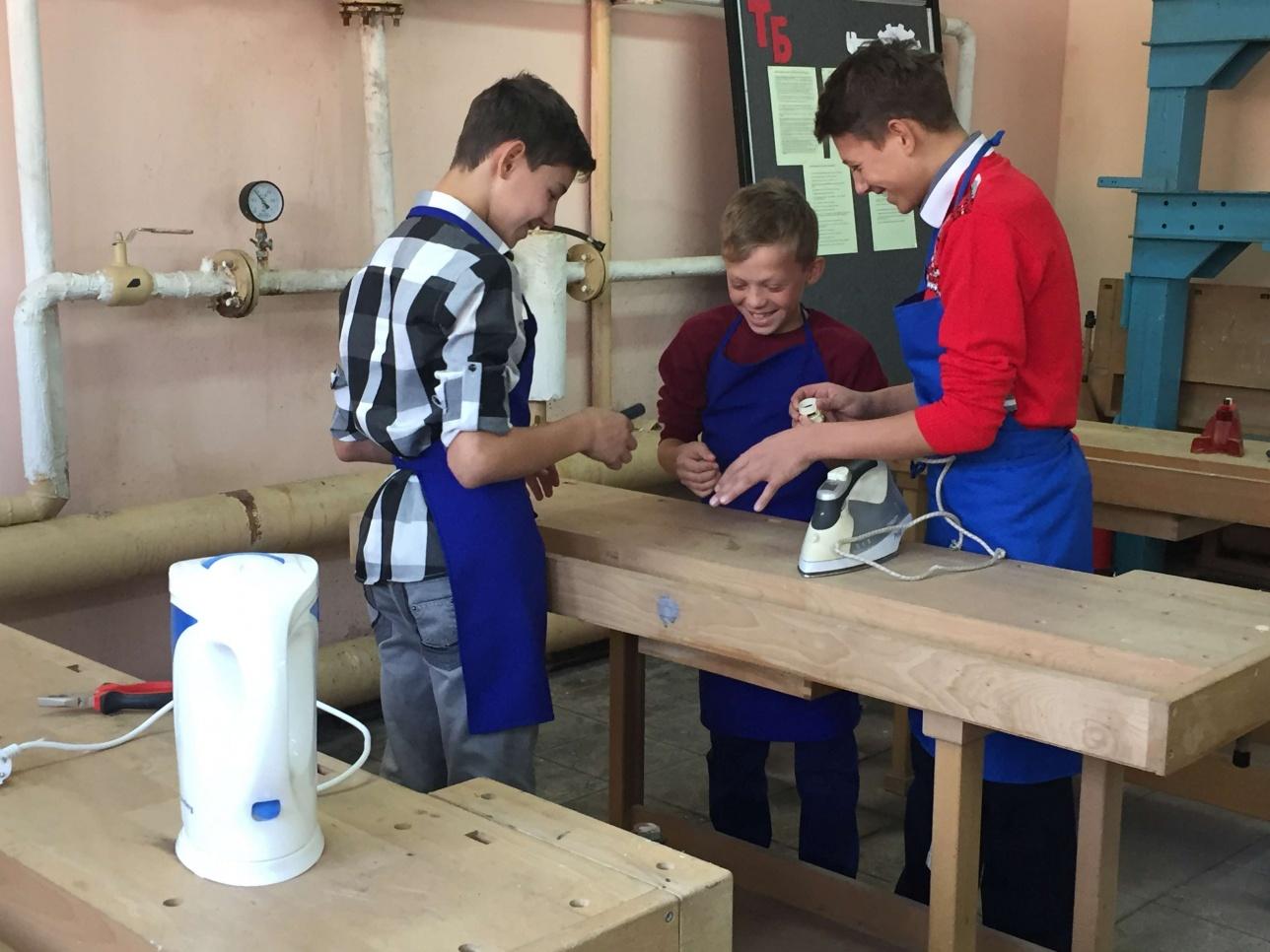 Общественная мастерская на базе детского дома Акимата Астаны