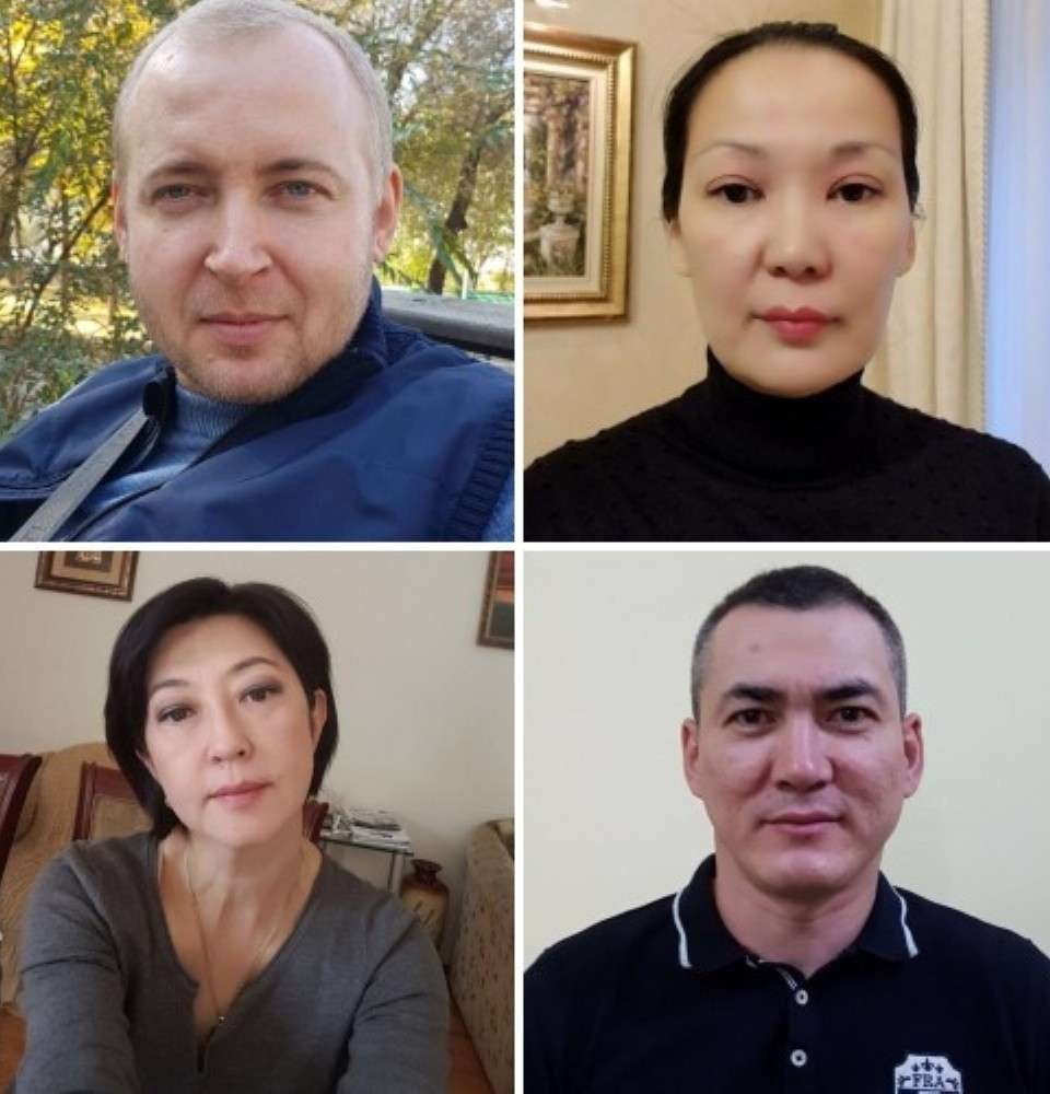 Хаблов, Абдихаимова, Джунусова и Кадесов