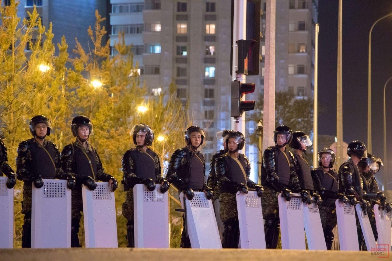Спецназ против граждан, к счастью, не пришлось применять