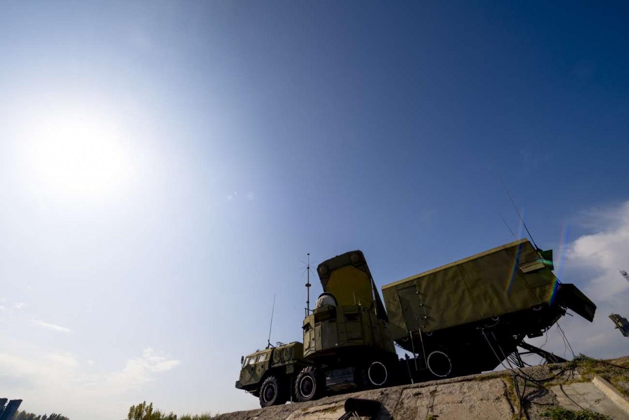 Кабина боевого управления ЗРК С-300
