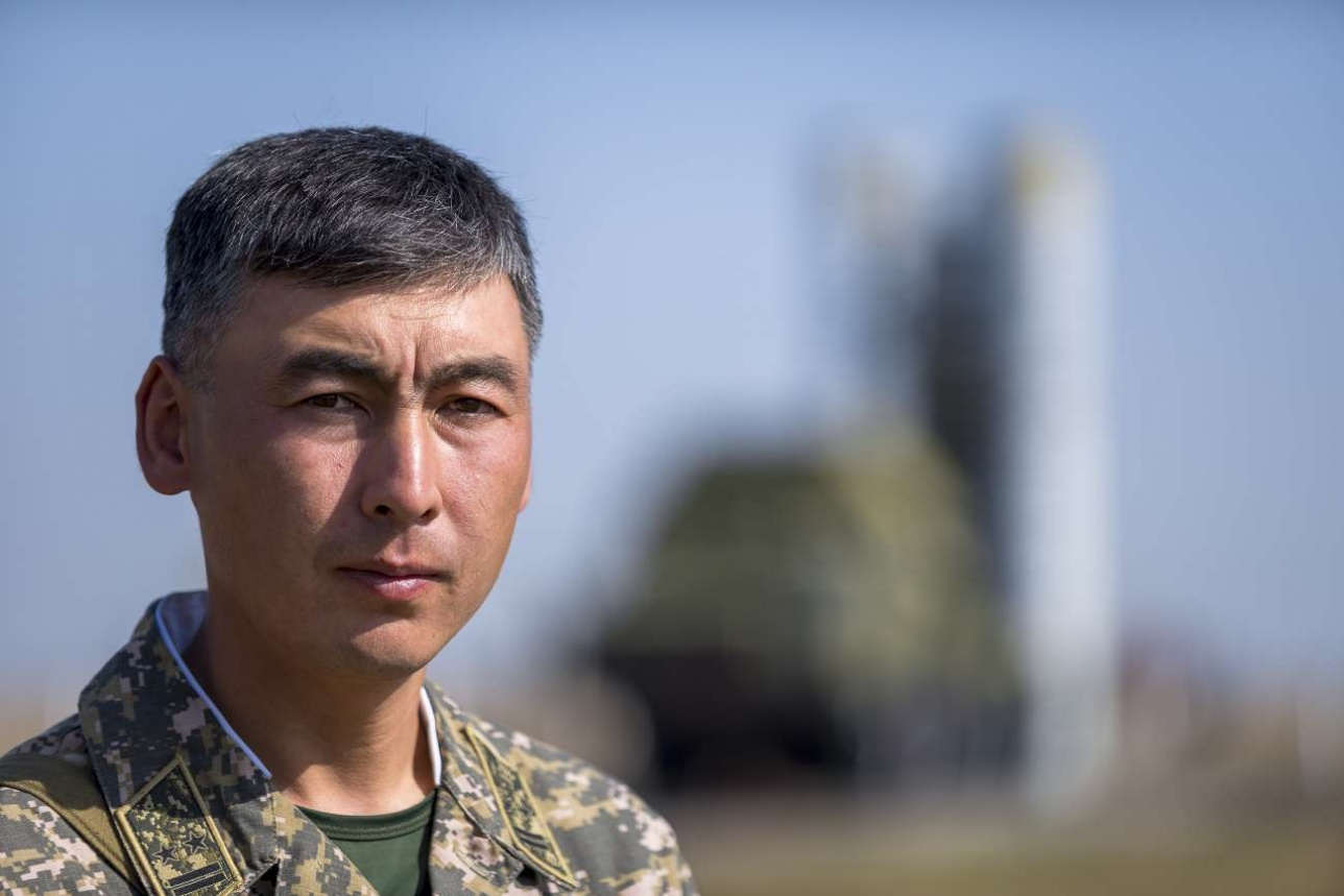 Командир зенитно-ракетного дивизиона С-300 подполковник Фархад Рафихов