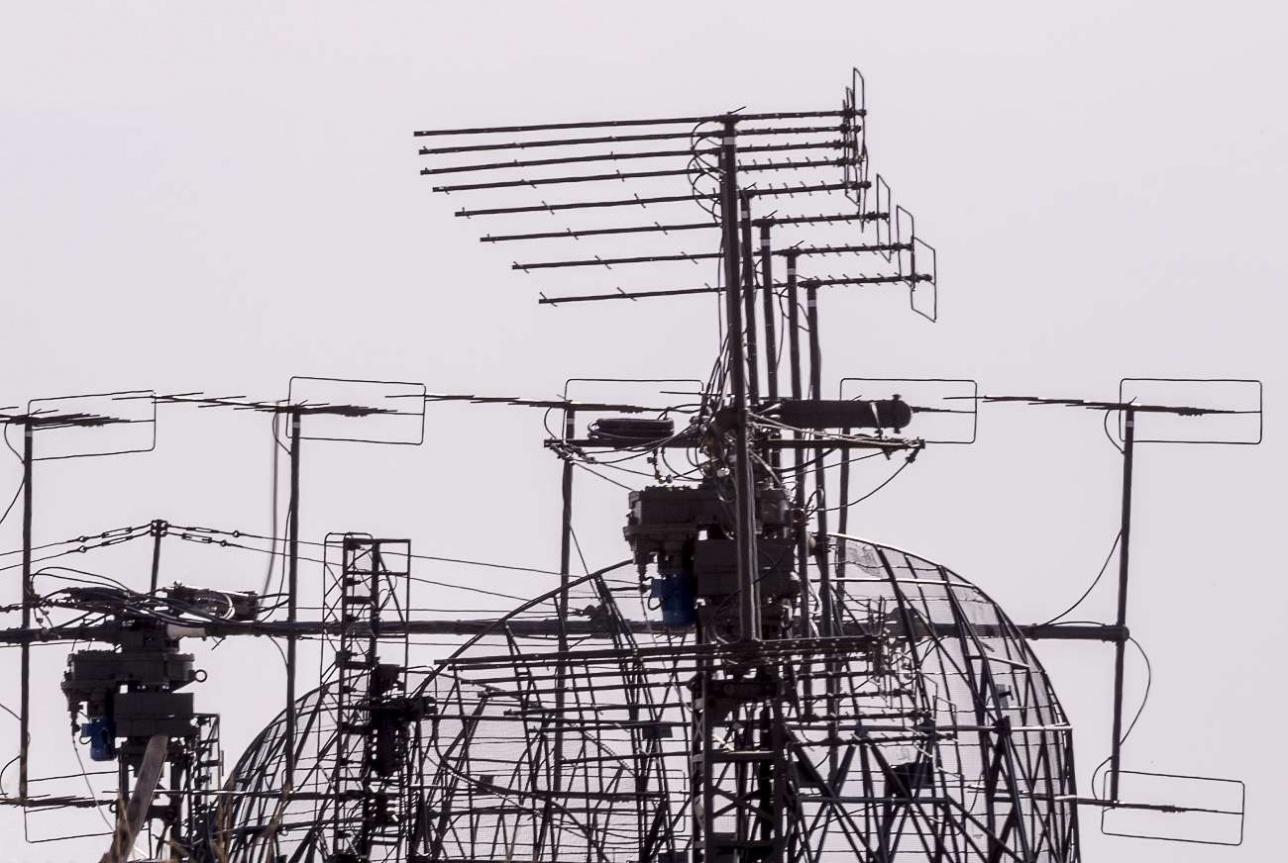 Антенный комплекс ЗРК С-200