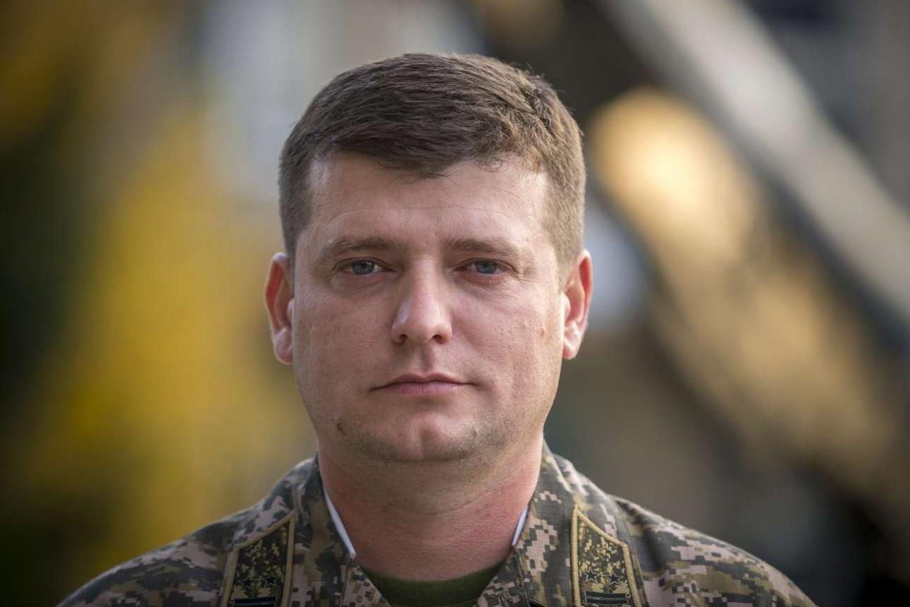 Подполковник Янис Иллиади командир бригады ПВО в/ч 97517