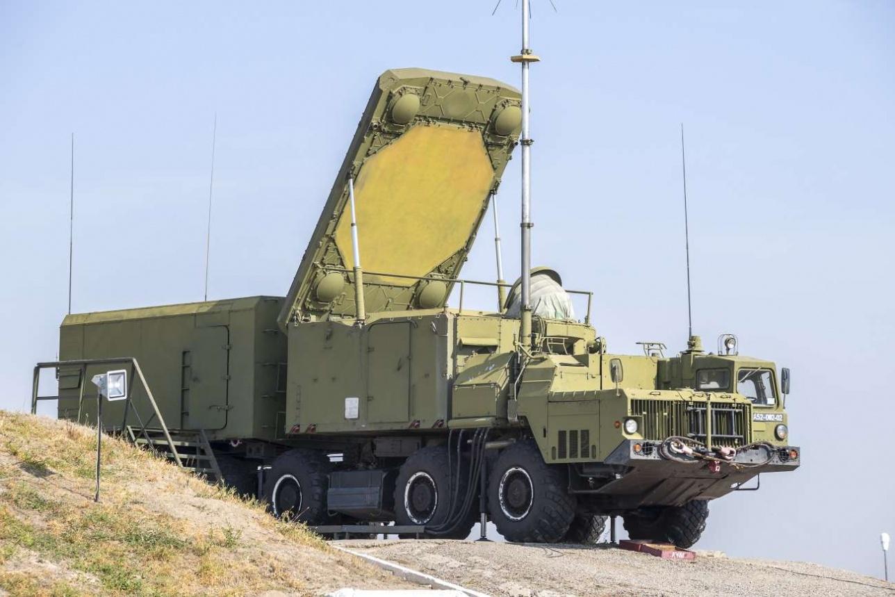 Радиолокатор подсвета и наведения (РПН) с фазированной антенной решеткой