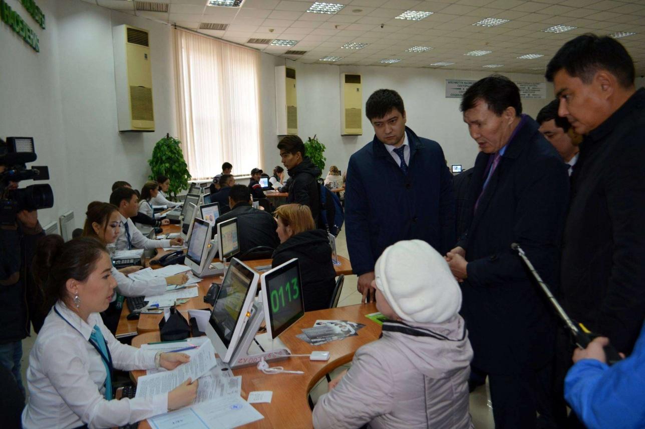 Заместитель председателя АДГСПК посетил ЦОНы СКО