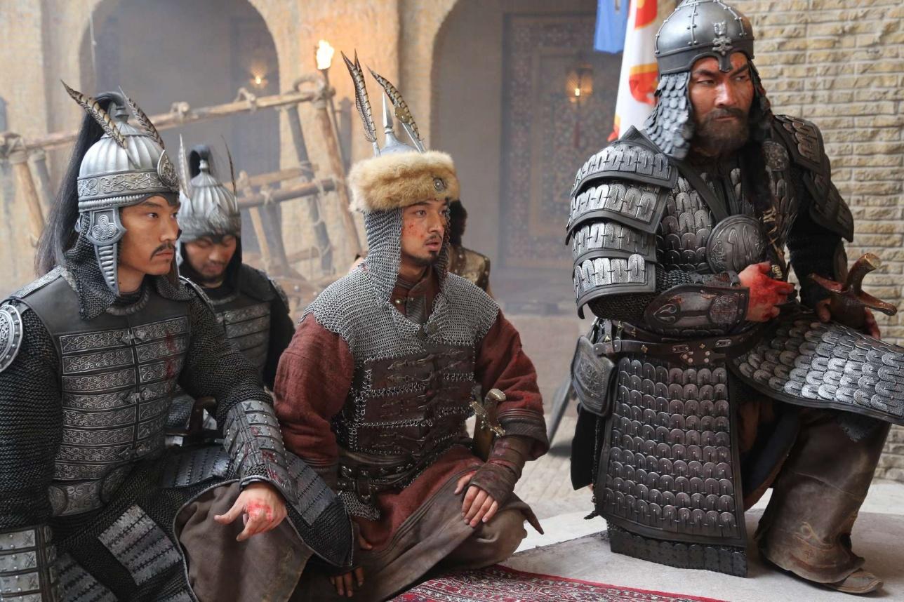"""Кадр из сериала """"Казахское ханство""""."""