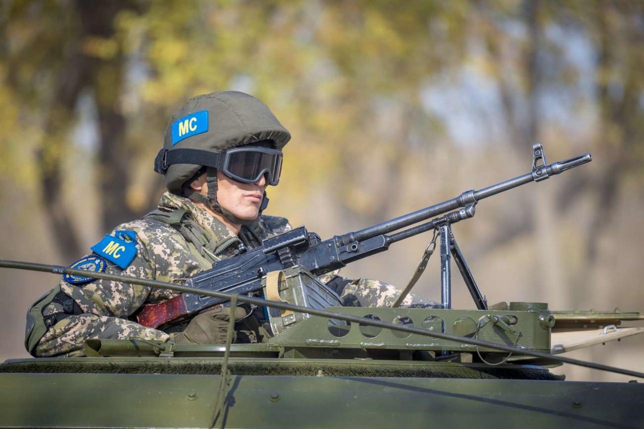 Прикрытие миротворческого патруля