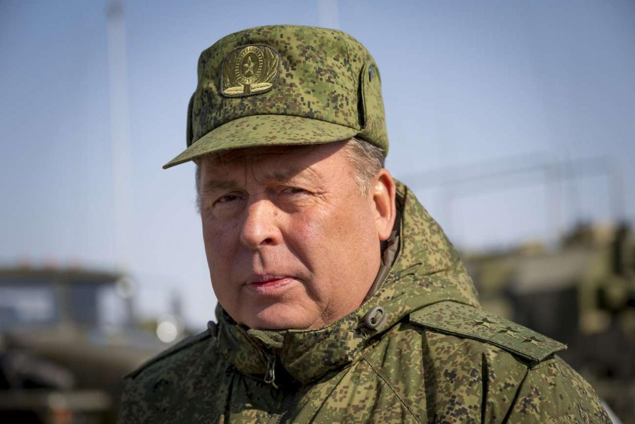 Анатолий Алексеевич Сидоров, начальник Объединенного штаба ОДКБ