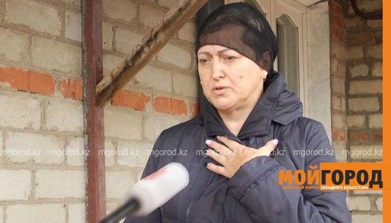Мать погибшего Владимира Машкина Светлана