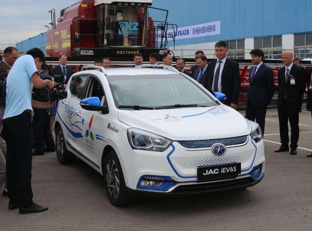 Электрокар казахстанской сборки
