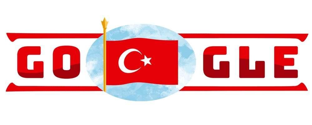 Дудл Google в честь Дня Республики Турции