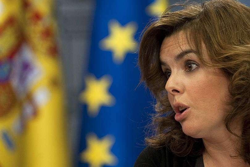 Вице-премьер Испании Сорайа Саэнс де Санта-Мария
