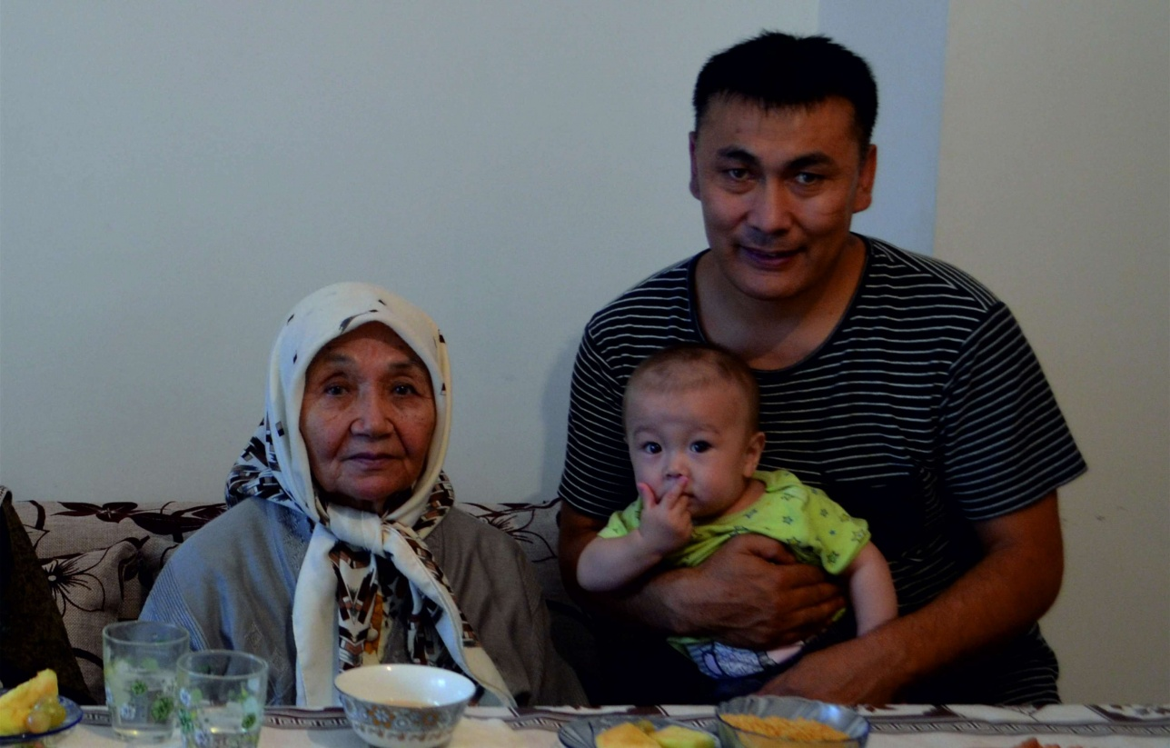 Фәзилә Сұлтаншәріпқызы. Астанаға қонаққа келгенде. 2017 жылы