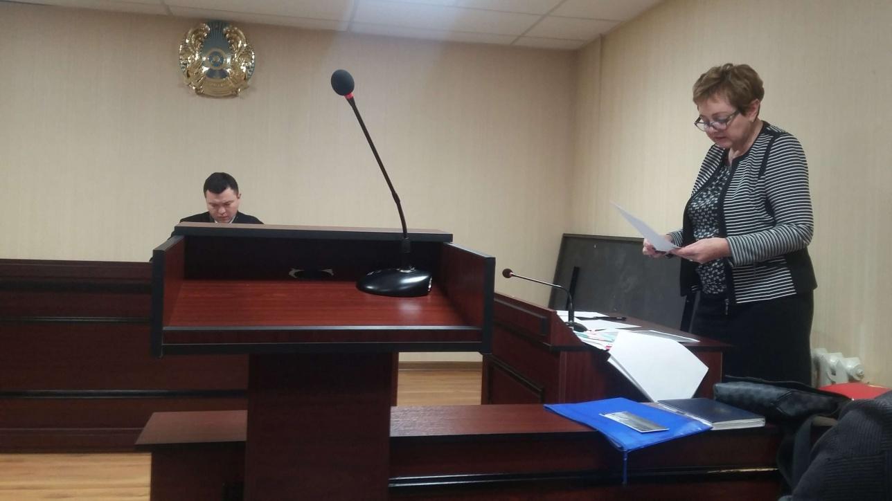 Ирина Осокина выступает в защиту Ускембаевой