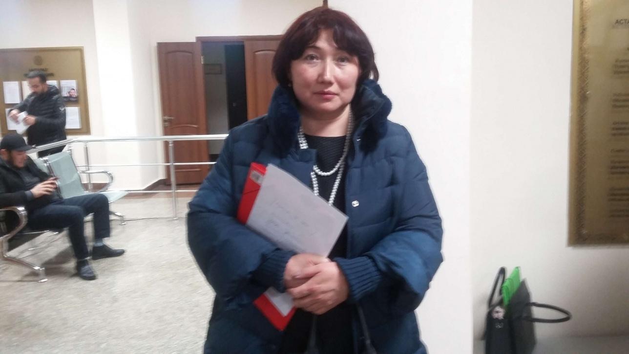 Айгуль Жараспаева после решения суда