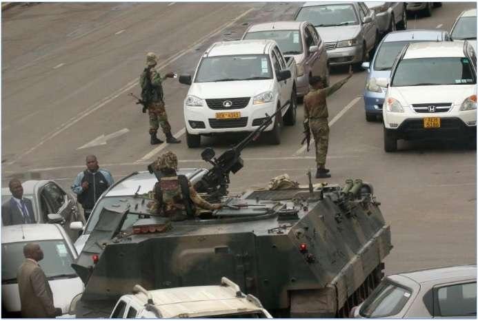 Военные заблокировали улицы столицы Зимбабве