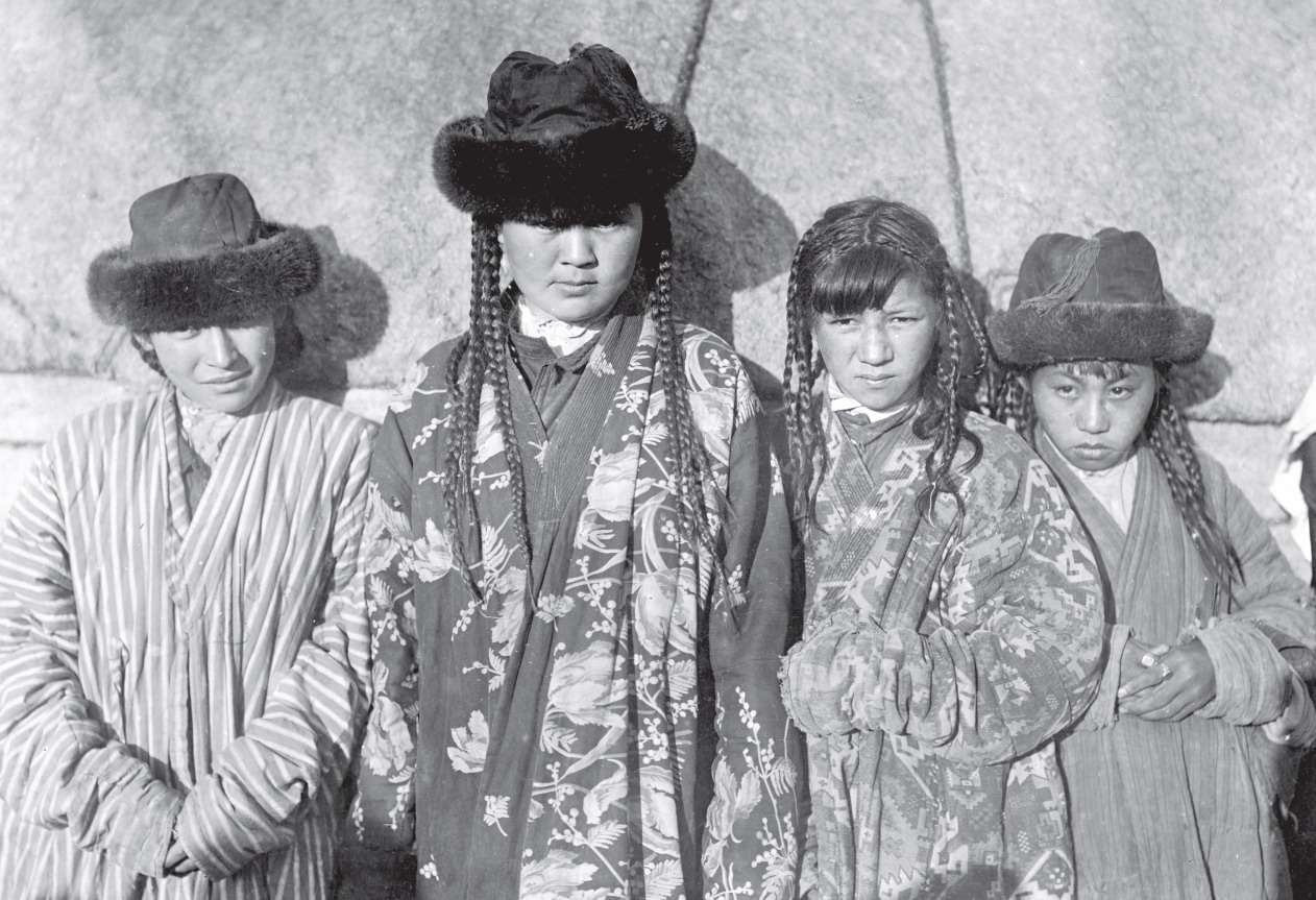 Казахские девочки