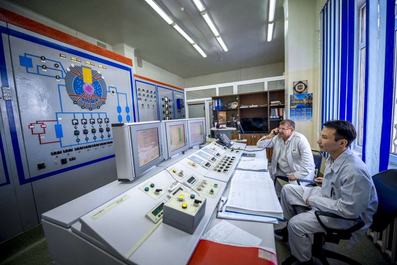 Зал управления реактором ВВРК также был модернизирован