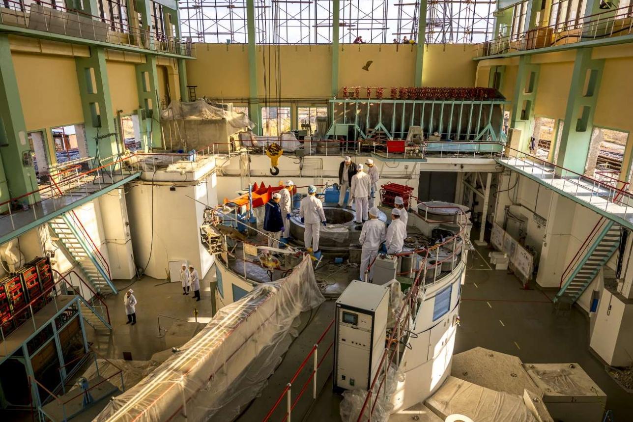 ВВР-КН сегодня единственный действующий реактор подобного типа на постсоветском пространстве