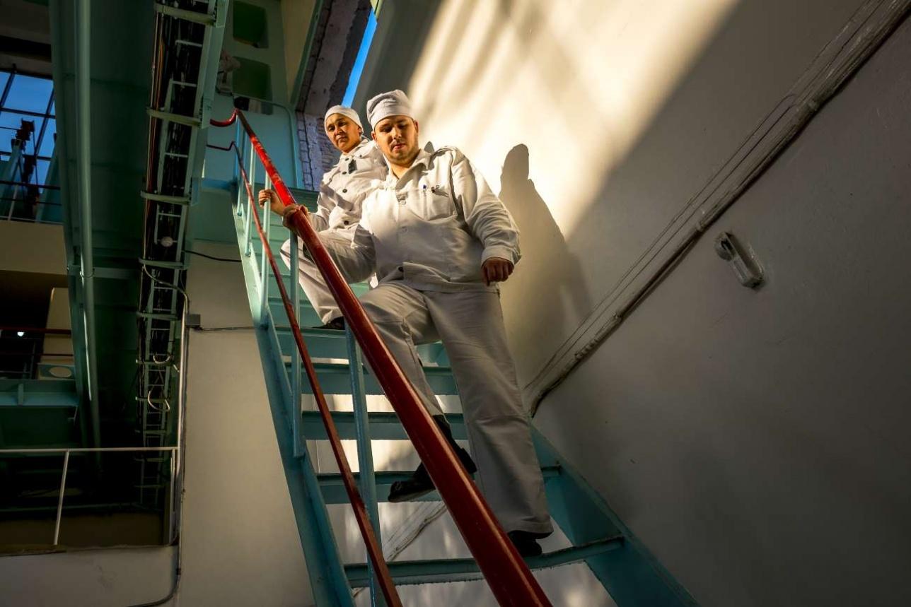 В Институте ядерной физики сегодня трудятся много молодых специалистов