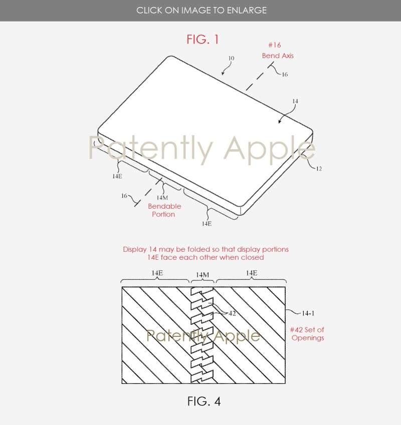 Патентный документ Apple