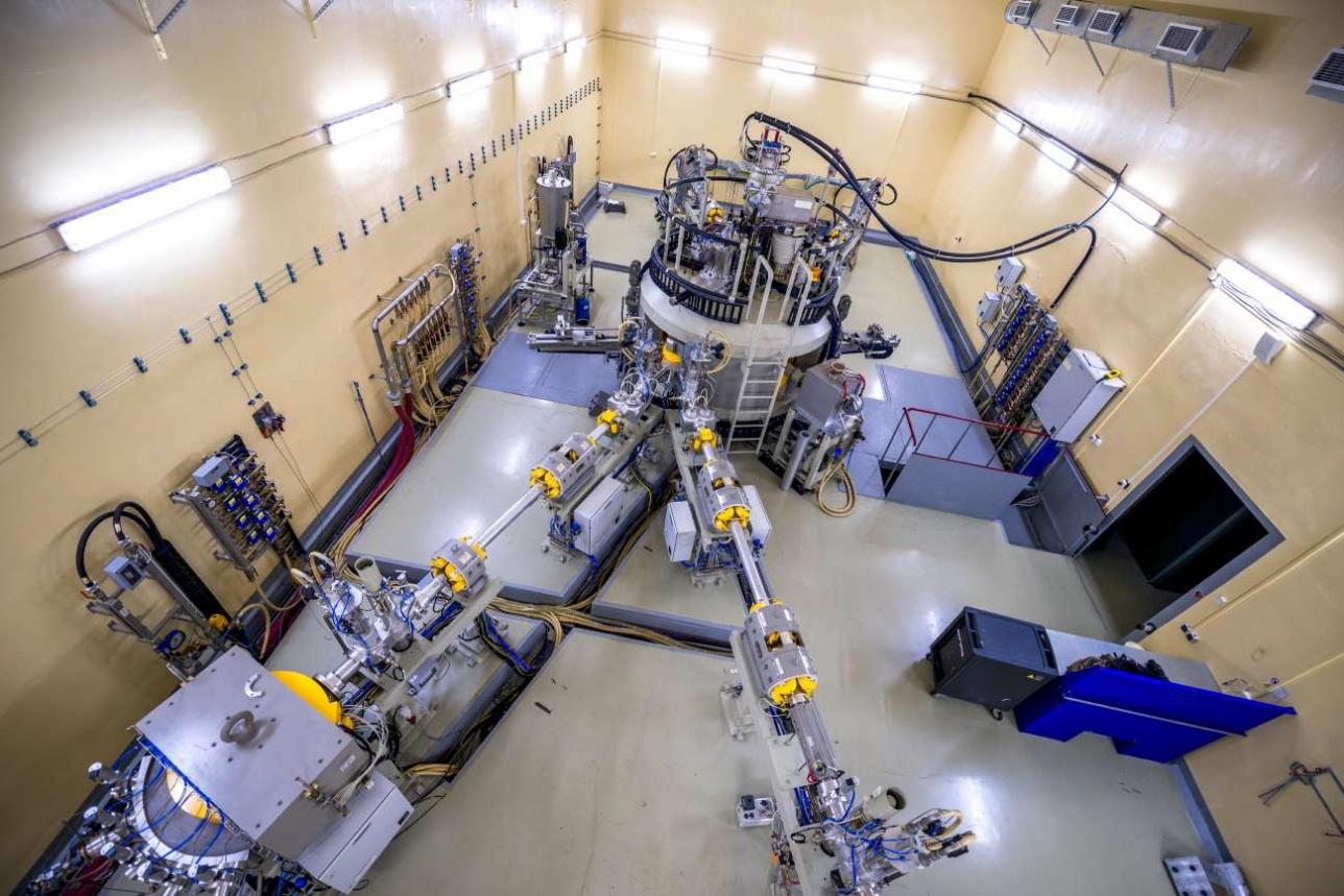 Новый бельгийский циклотрон C-30