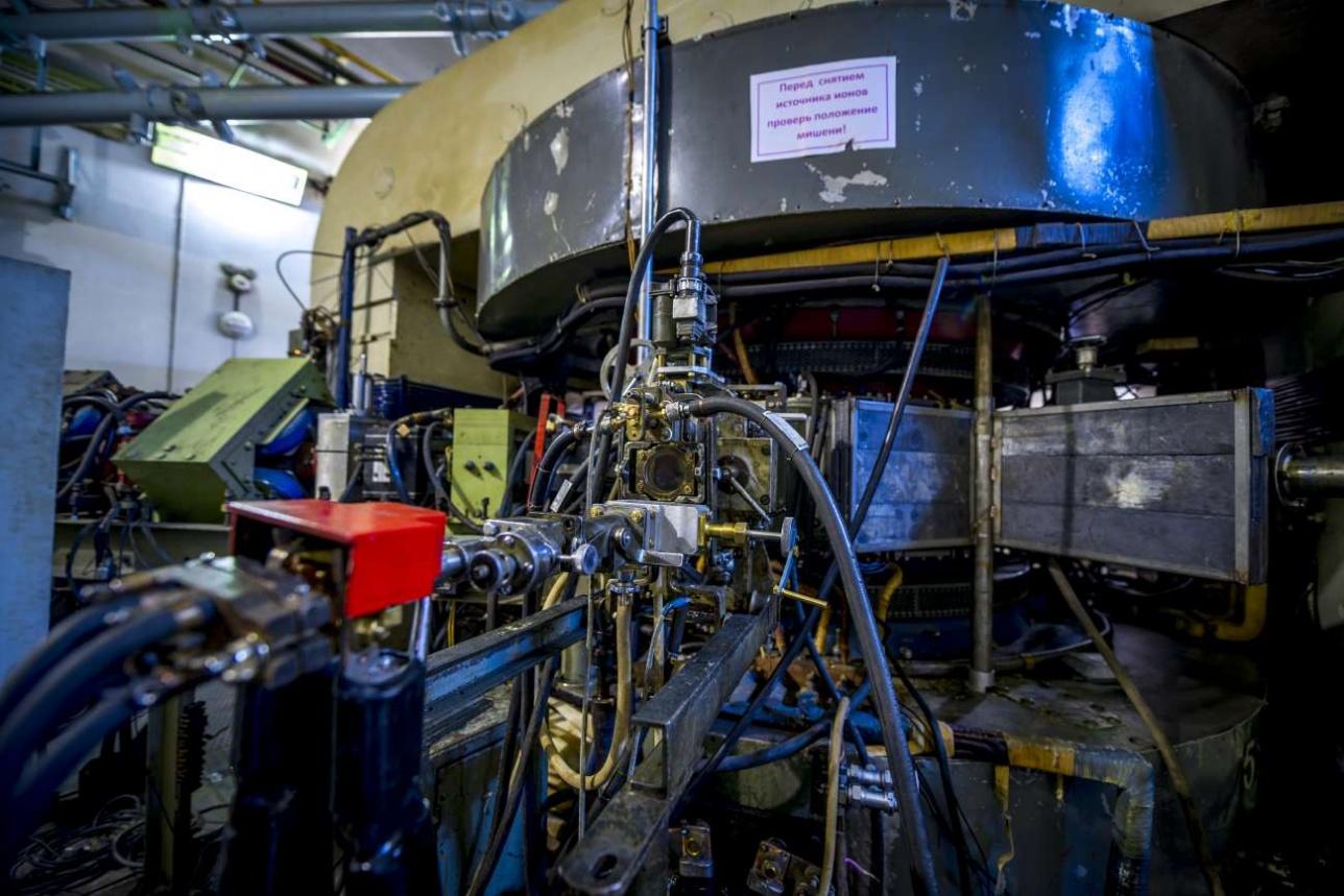 Радиоизотопная мишень циклотрона
