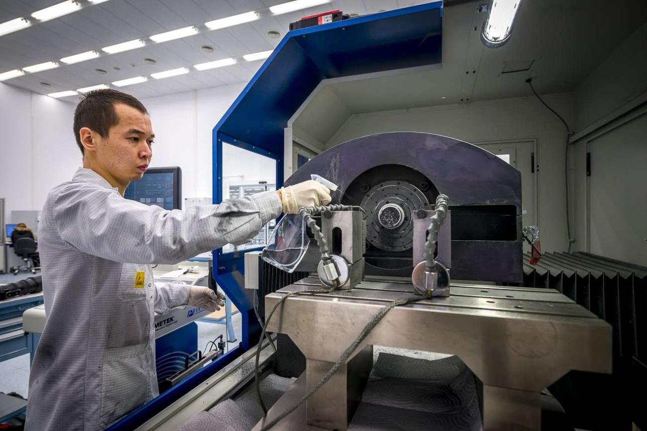 Подготовка процесса расточки ИК-линзы