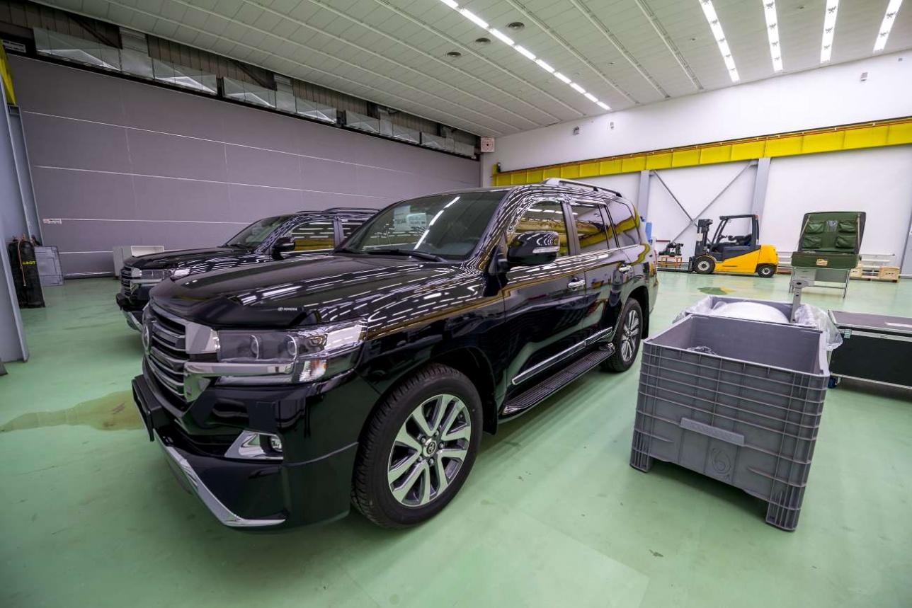 На эти автомобили Службы государственной охраны будут устанавливаться системы связи