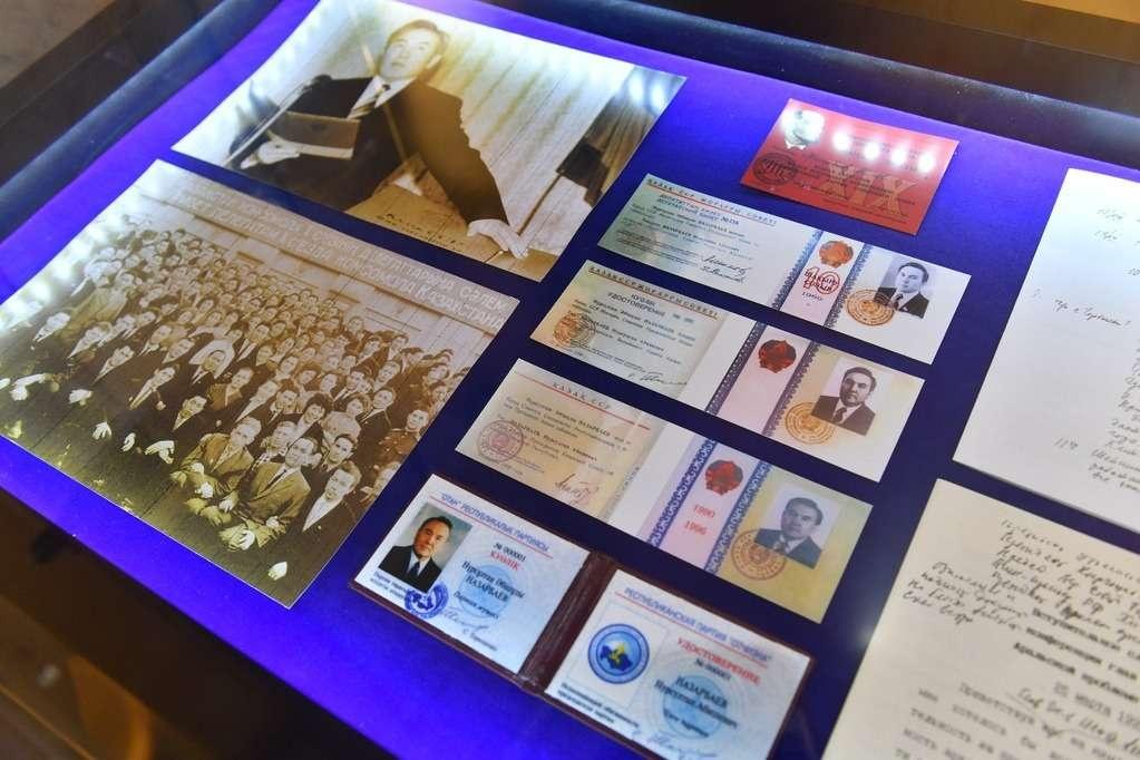 Среди экспонатов - вещи, принадлежащие Нурсултану Назарбаеву