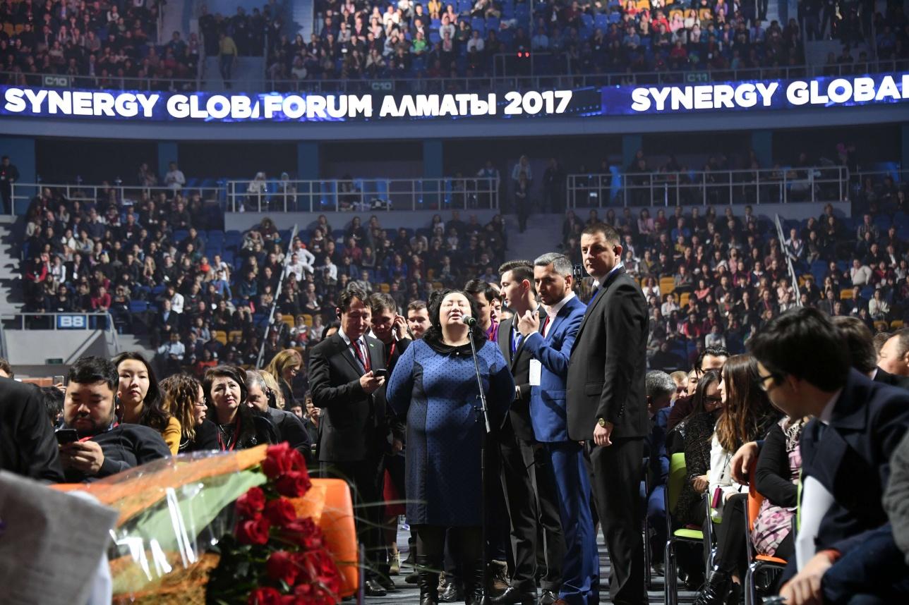 Столько людей пришло послушать Майка Тайсона на Synergy Global Forum