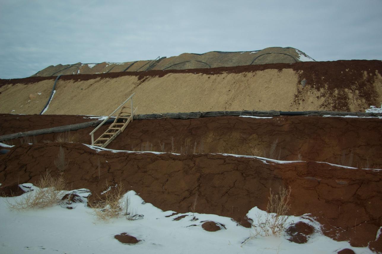 Рудные штабеля