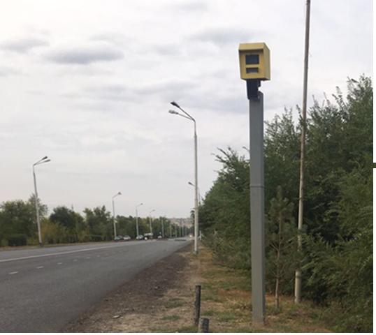 Скоростемер в Уральске на улице Чагано-Набережная