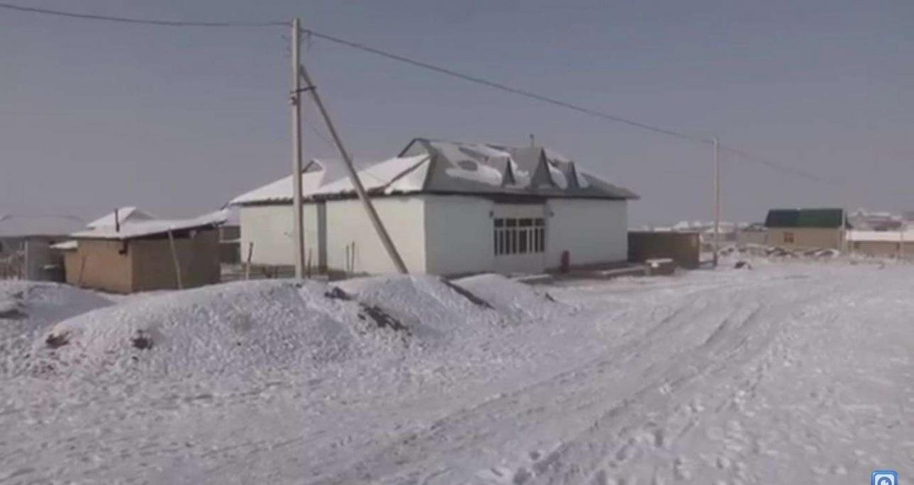 Село Айнатас в ЮКО