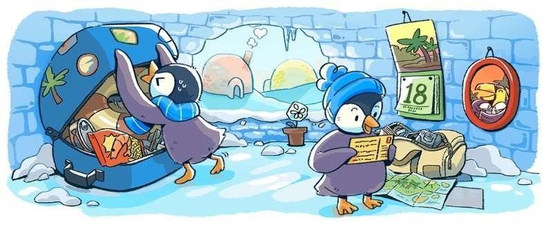 Пользователям расскажут о приключениях братьев-пингвинов