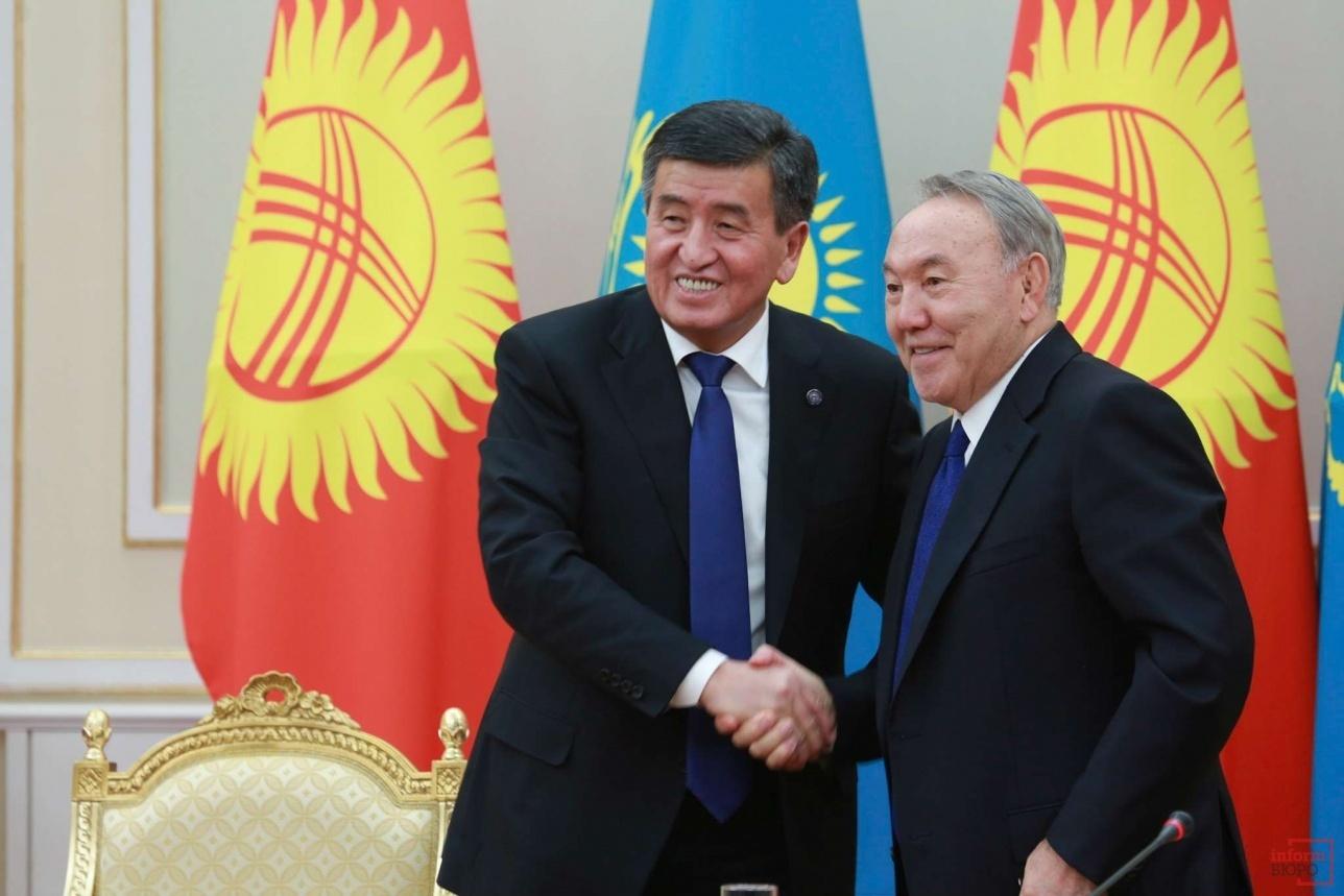 Президенты Казахстана и Кыргызстана подписали договор о