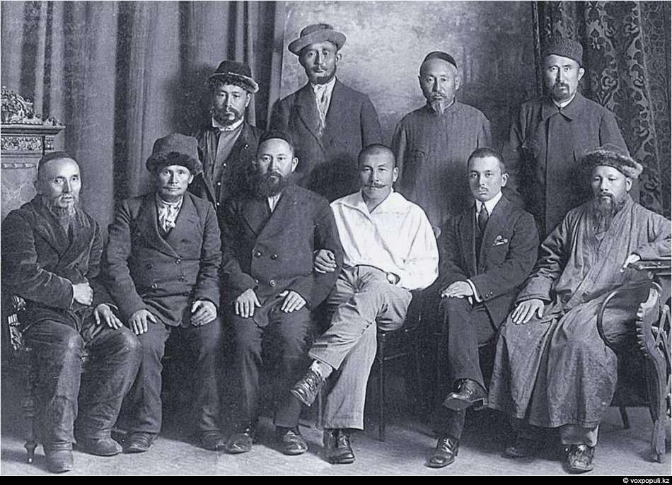 Алашская интеллигенция, Семипалатинск 1918-ый год.