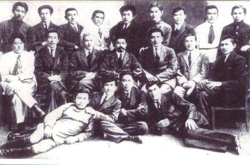 Руководители Западного отделения Алаш-Орды
