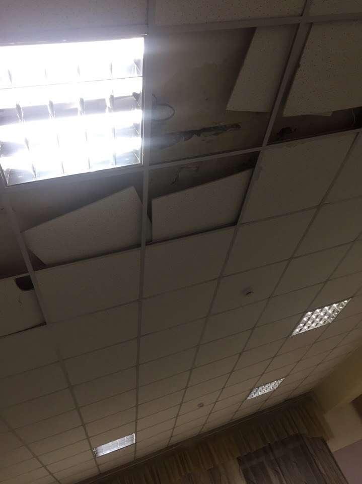 Новая крыша не выдержала проверки на прочность