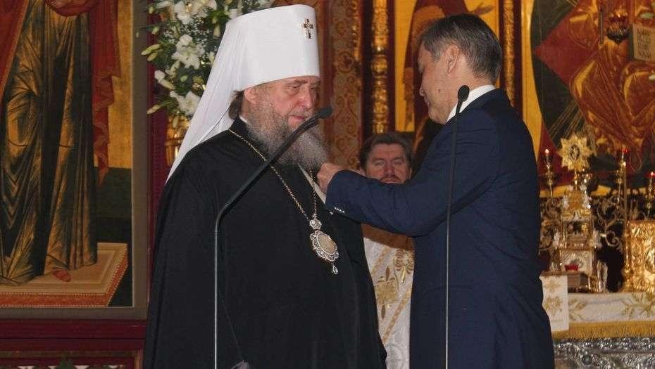 В Вознесенком Кафедральном соборе Алматы