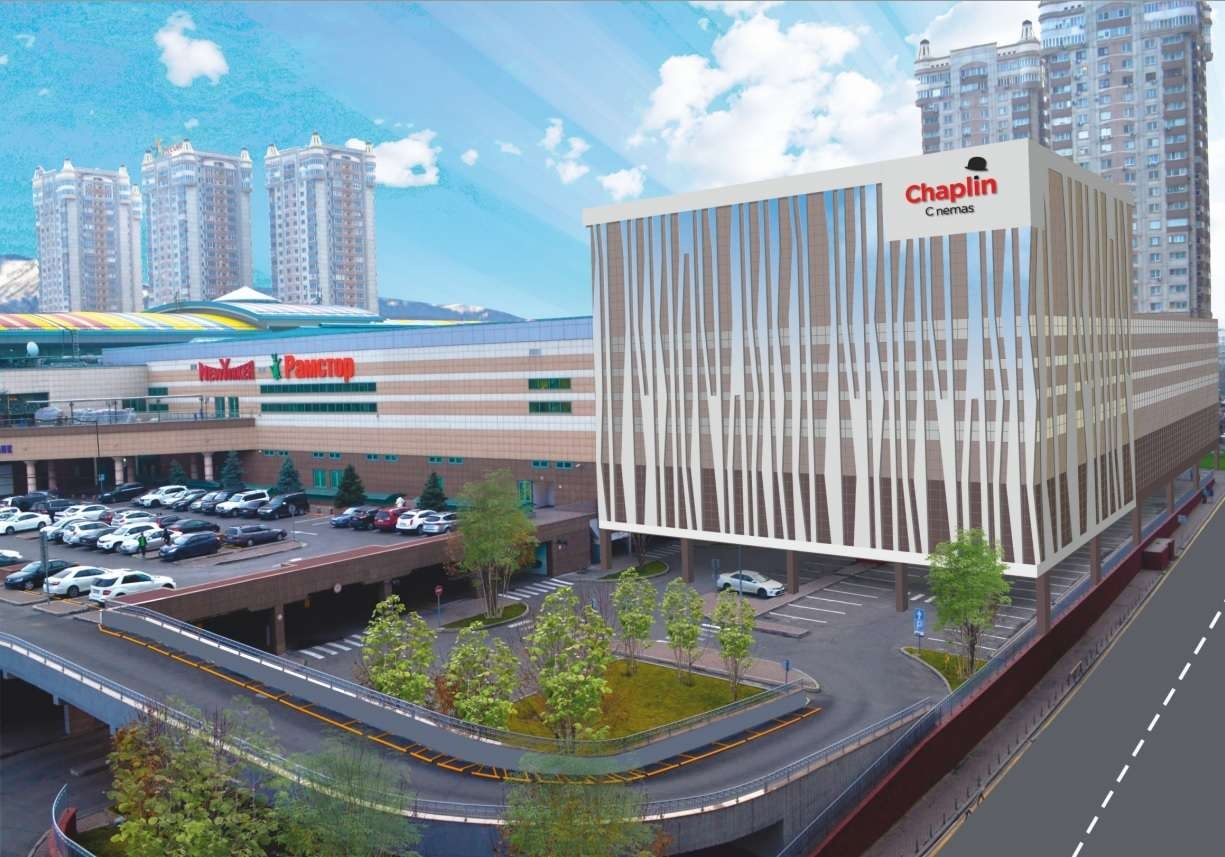 Проект нового здания 15-зального кинотеатра