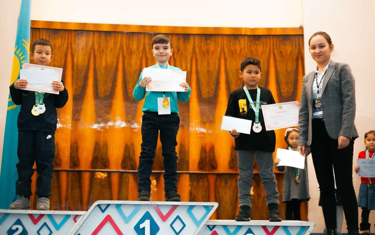 Самые юные участники чемпионата Казахстана