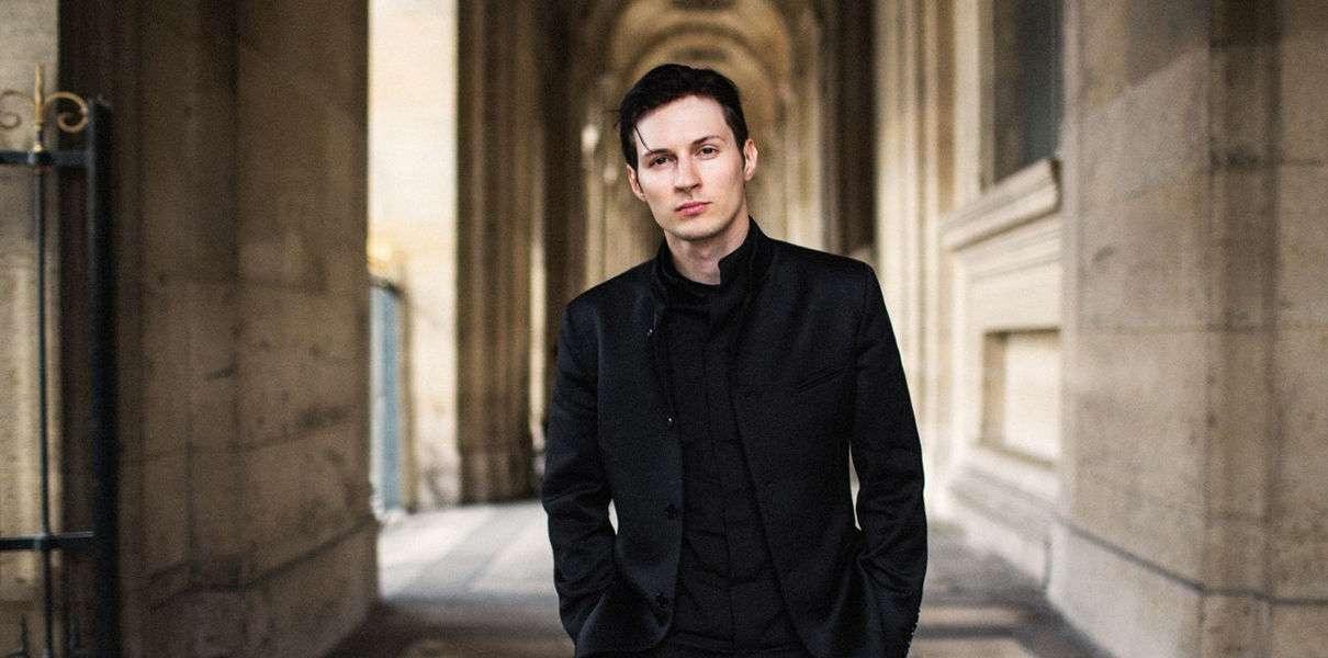 Павел Дуров - создатель мессенджера Telegram