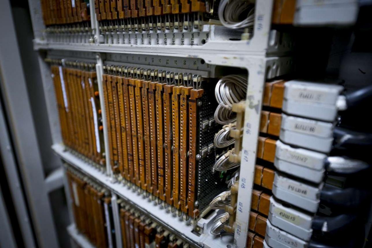 На этом стенде испытывают радиоэлектронные блоки ЗРС C-300