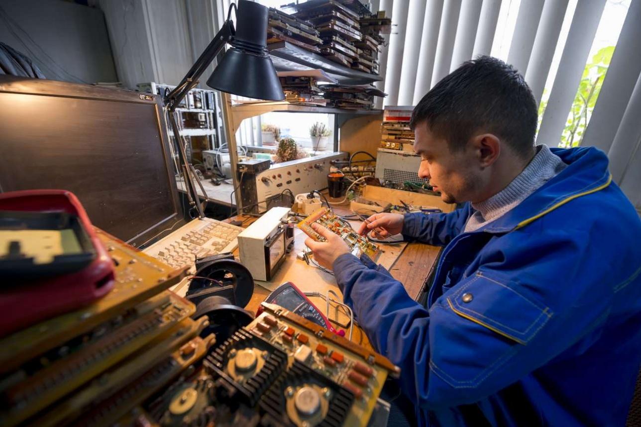 Работа с радиоэлектронными блоками ЗРС C-300